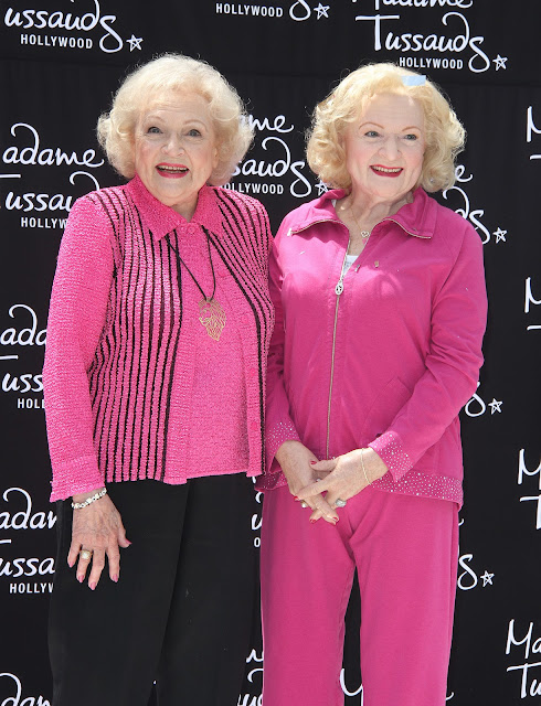 Betty White Wax Figure