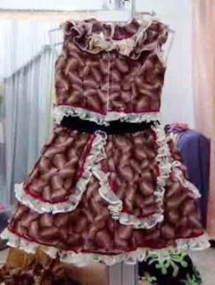 Model Baju Batik Anak Perempuan 2