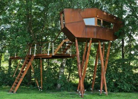 Arquitectura critica el sue o de la casita en el arbol - Casitas en el arbol ...
