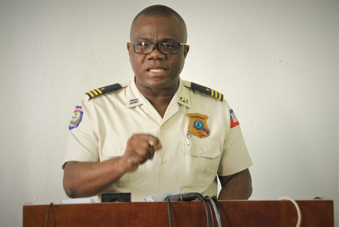 Le haut commandement de la PNH ne va pas tolérer les bavures policières, prévient Garry Desrosiers