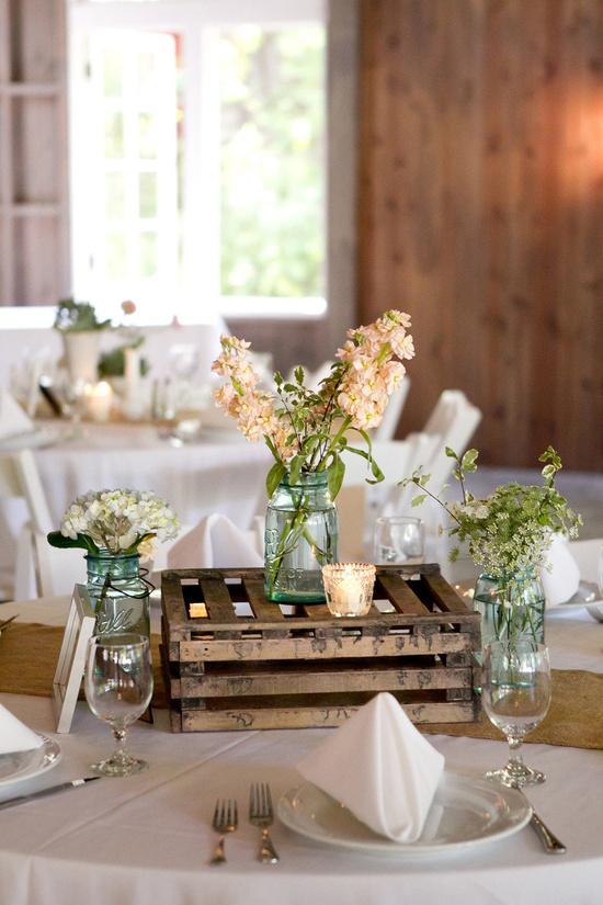 Oh mywedding cajas de madera para decorar la boda - Cajas madera decoracion ...