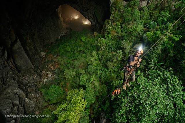 Hình ảnh đẹp Hang động Sơn Doong