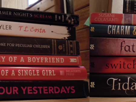 Bookshelf Additions for June