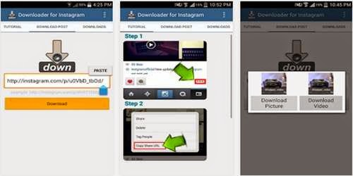 Aplikasi Android Terbaik Untuk Download Video Instagram