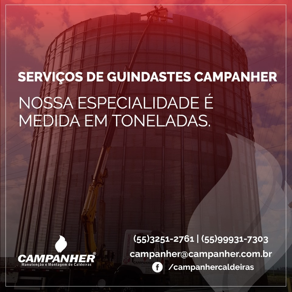 Guindastes Campanher