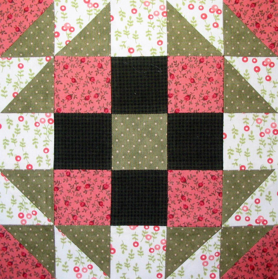 Quilting Designs For Blocks : Starwood Quilter: Bookworm Quilt Block