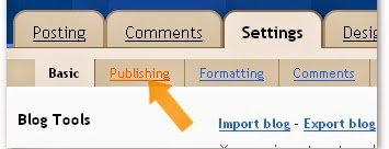 How to Link To Blogger Blog to Website : eAskme
