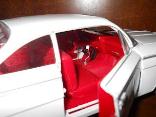 coche en miniatura de 1962 Chevrolet Bel Air 1:18 diecast