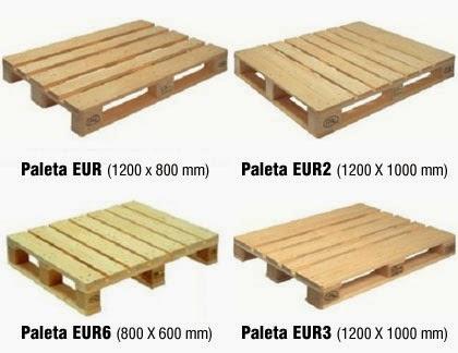 Medidas palet europeo for Medidas de palets de madera