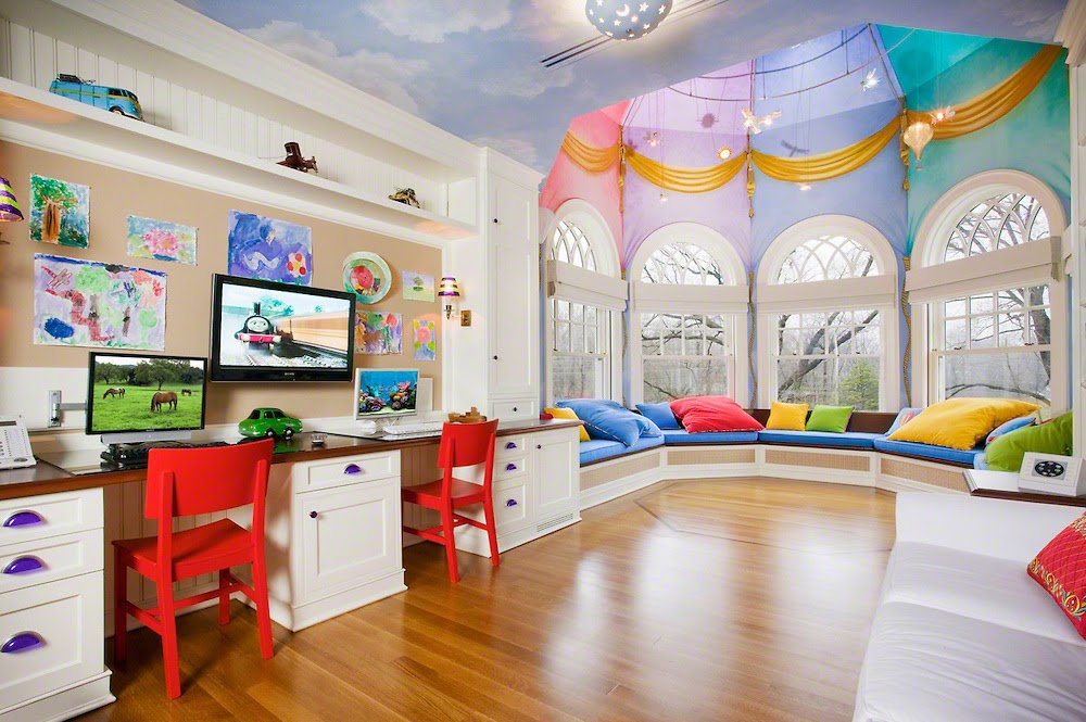 Captivating Childrenu0027s Play Room