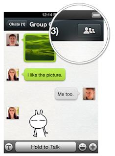 cara membuat grup chat di wechat