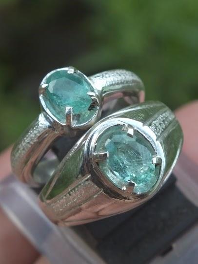 cincin tunangan perak