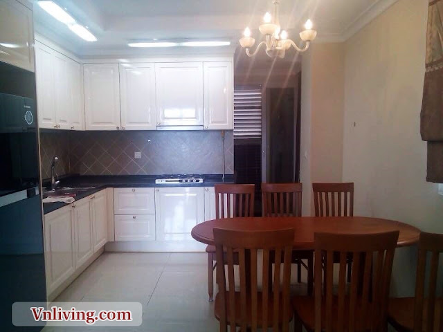 Kitchen room at Imperia Apartment 115 sqm 3 bedroom for rent