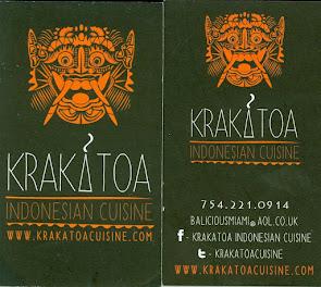 Krakatoa Indonesian Cuisine