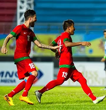 Timnas Jalannya Pertandingan Indonesia Lawan China