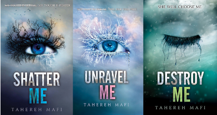 Shatter Me Buchreihe Cover Orignal - Let's Talk About