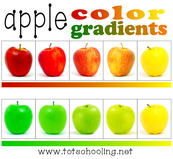 Free Apple Color Gradient Activity