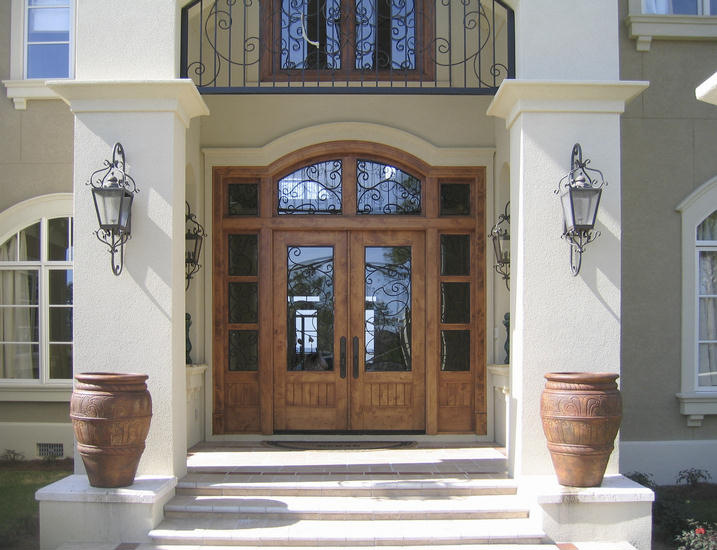 Our french inspired home exterior french doors which for French style front door
