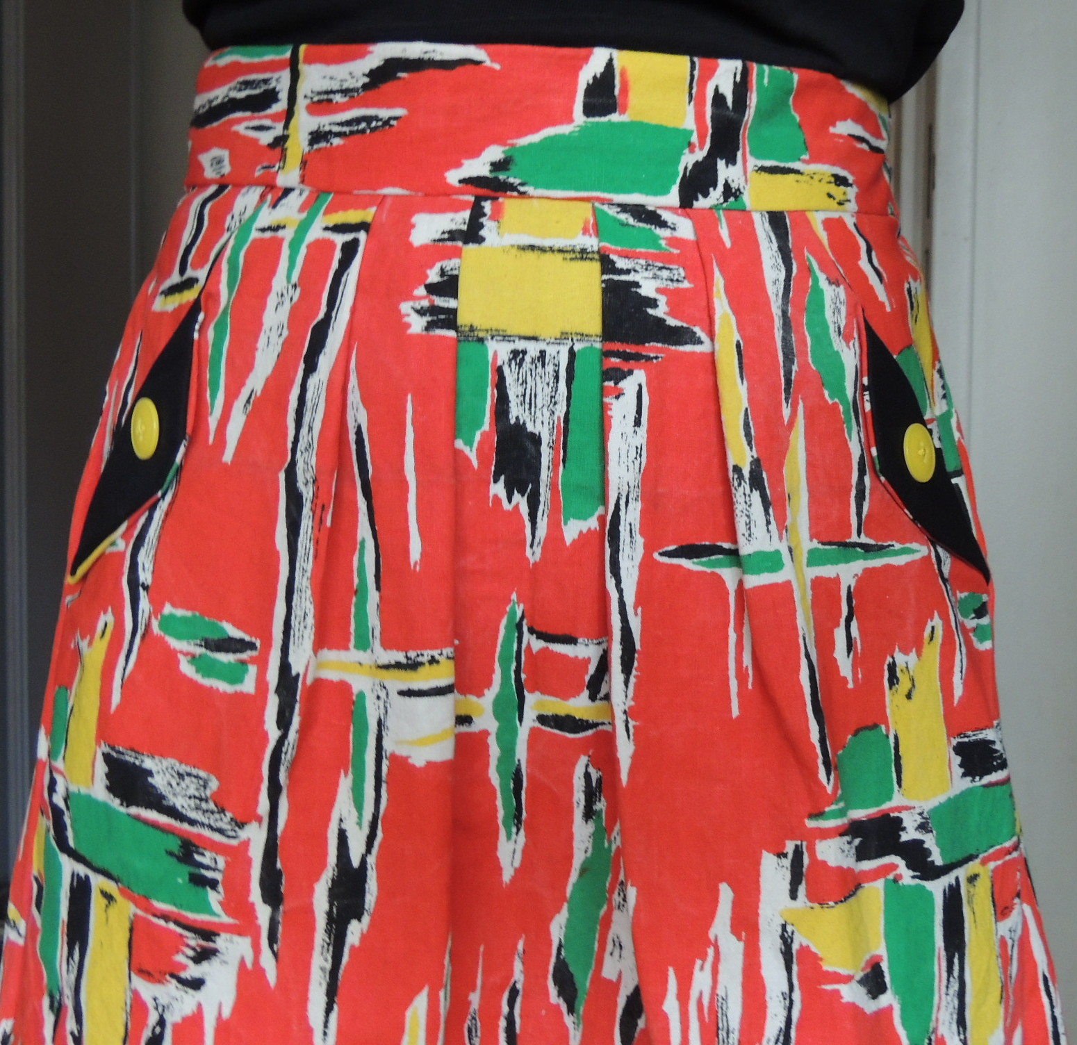Mademoiselle wen une jupe lotta de la compagnie m en version vintage ann es 50 - Tissu vintage annees 50 ...