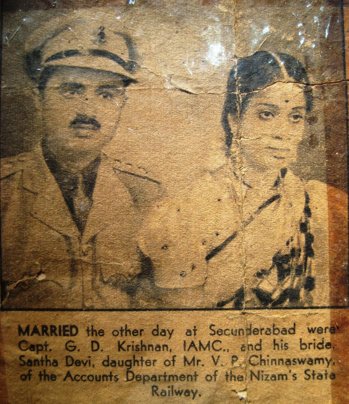 alipiri the beginning shyamala ranga bhashyam s family my santha devi daughter of shri vadi p chinnaswamy naidu and