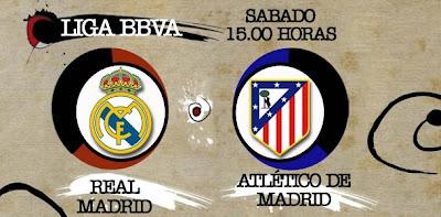 Real Madrid vs Atlético de Madrid ¡La liga está en juego!