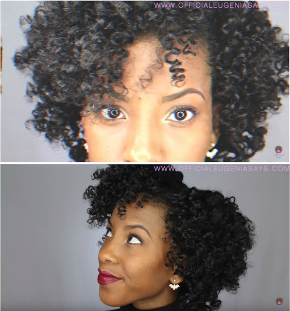 Bouncy Big Bantu Knots On Natural Hair With Lotta Body!