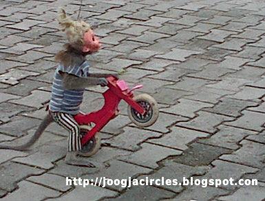 Atraksi Topeng Monyet Hiasi Jalanan Jogja | Joogja Circles