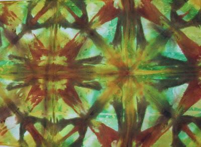 Deborah Younglao shibori pattern