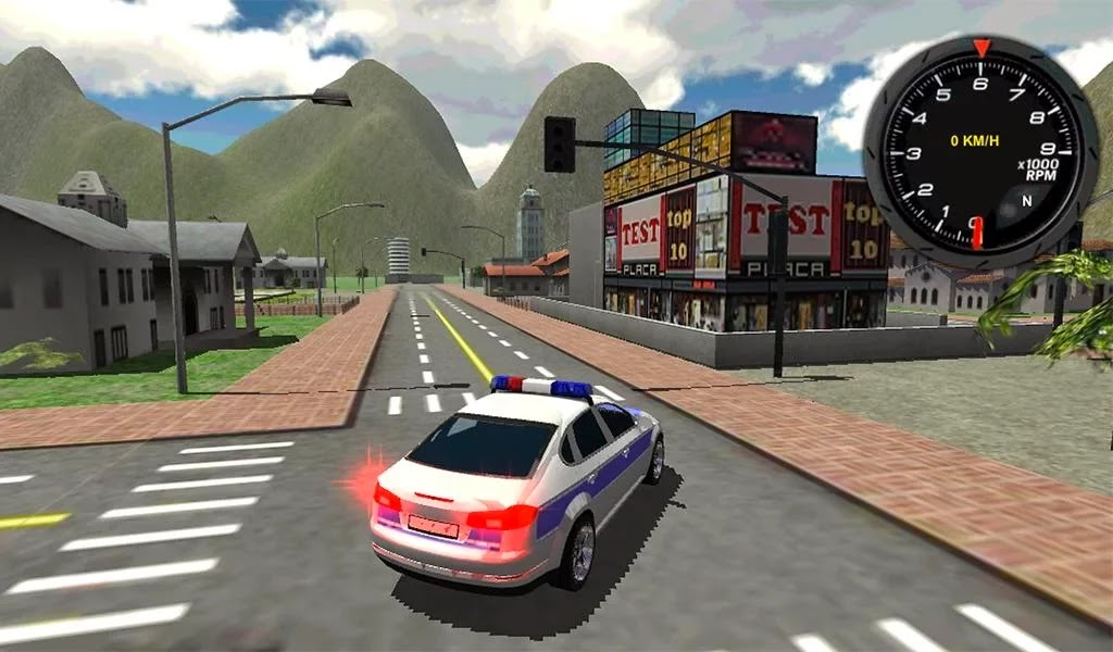 Police Car Driver 3D Android Apk Oyun resimi 2