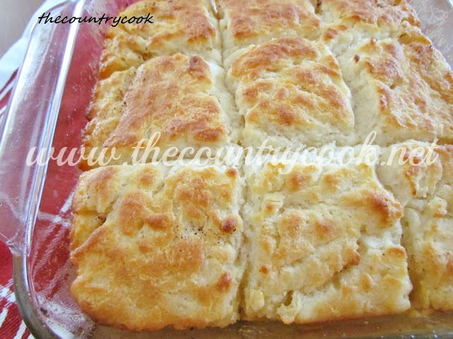 The Country Cook: Butter Dip Biscuits