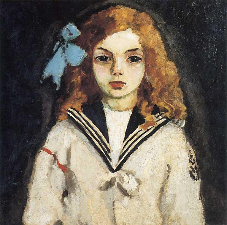 Kees van Dongen (1877-1968) , La femme à laigrette