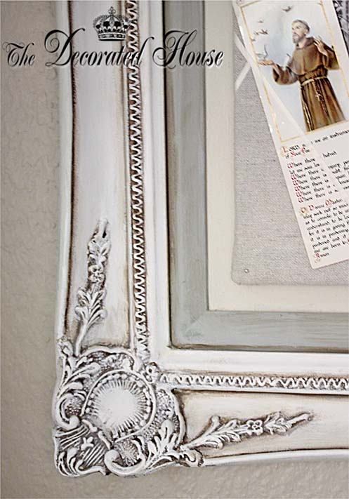The Decorated House: ~ Antiqued Old White Chalk Paint With Paris ...