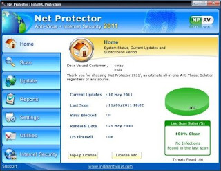 Download Net Protector Antivirus Full - Licença ate 2030