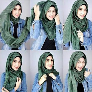 Tutorial Jilbab paling Simple