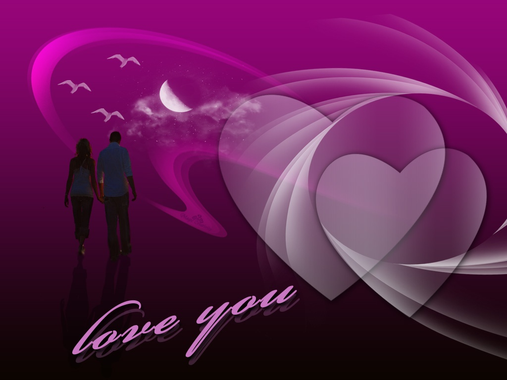 HD Wallpapers: 3D Love Wallpapers