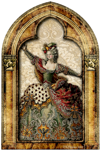 Gothic Picture Frame