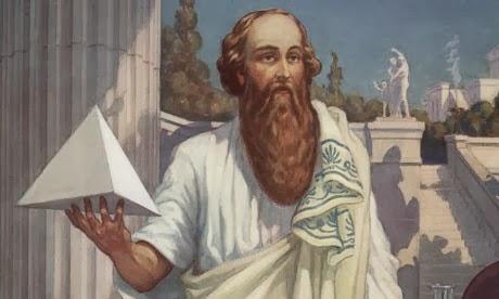 Kết quả hình ảnh cho Nhà triết học Pythagoras