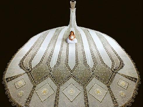 Inilah Gaun Pengantin Paling Mewah Di Dunia