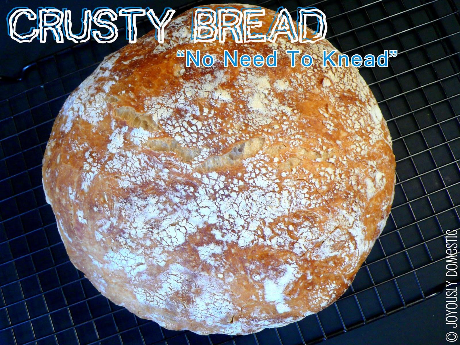 how to keep crusty bread crusty