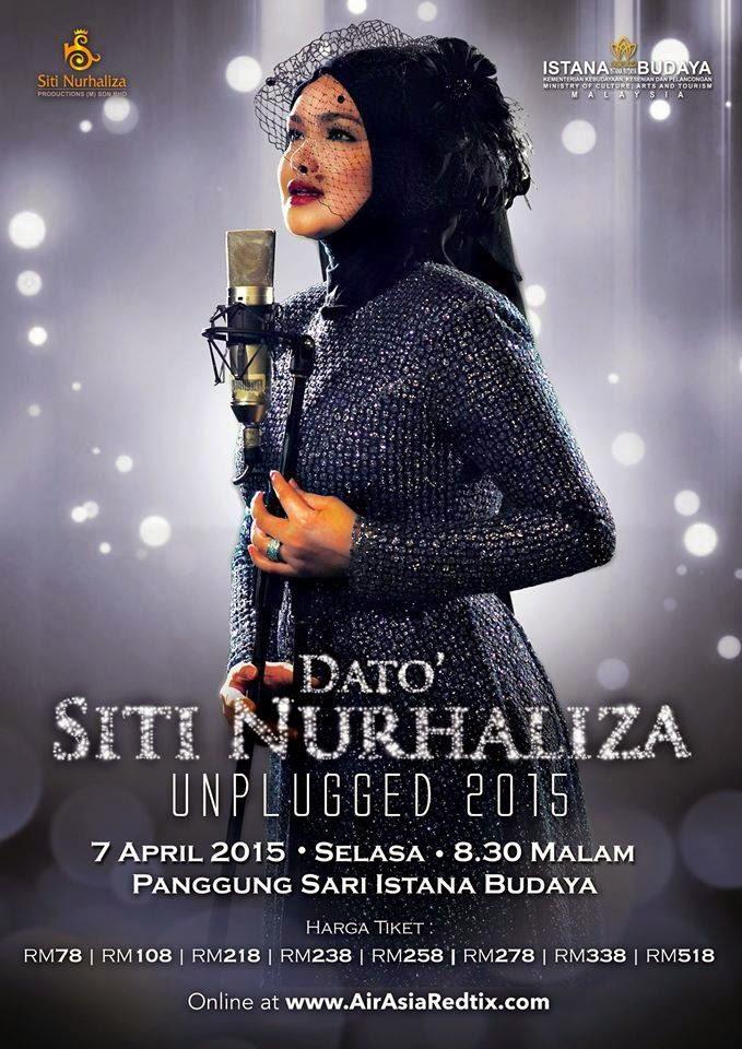Konsert Khas Dato Siti Nurhaliza Unplugged 2015 Istana Budaya