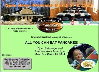 3-28/29 All You Can Eat Pancakes