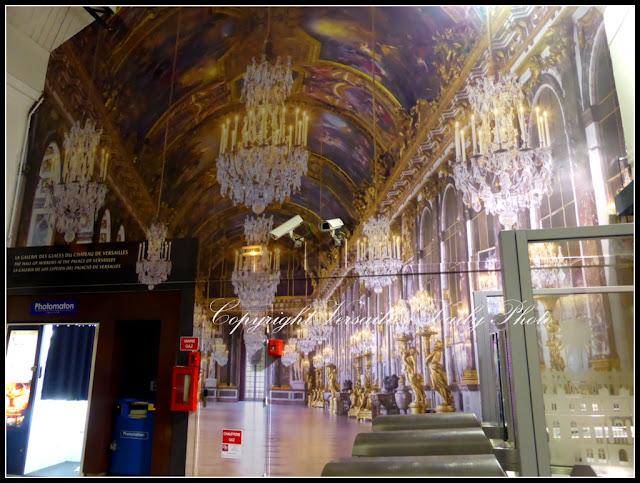 Versailles Rive Droite Train Station