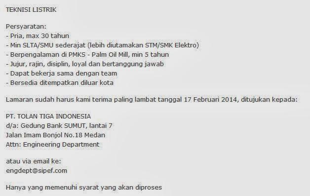 lowongan-kerja-terbaru-sma-smk-medan-februari 2014