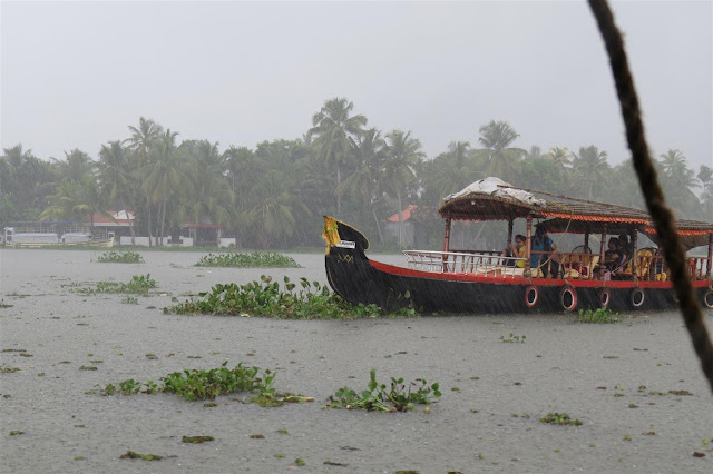 Shikara on Alleppey Backwaters