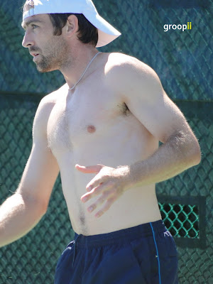 Benjamin Becker Shirtless at Cincinnati Open 2010