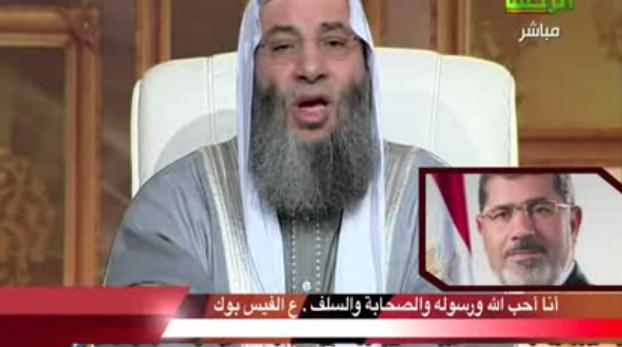 """فيديو """"الرئيس مرسي"""" يتصل بالشيخ """"محمد حسان"""" ويطلب منه النصيحه"""
