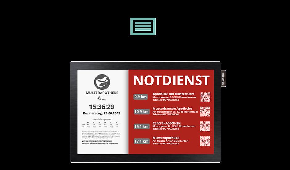 Apotheken Notdienst Monitor