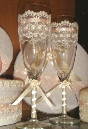 Decora tus copas para boda foro manualidades para bodas - Como decorar copas para boda ...