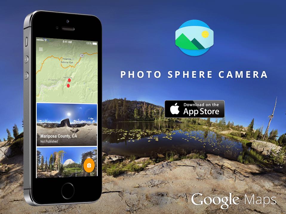 Google Ra Mắt Ứng Dụng Chụp Ảnh Panorama 360 Độ Photo Sphere Camera Cho iPhone