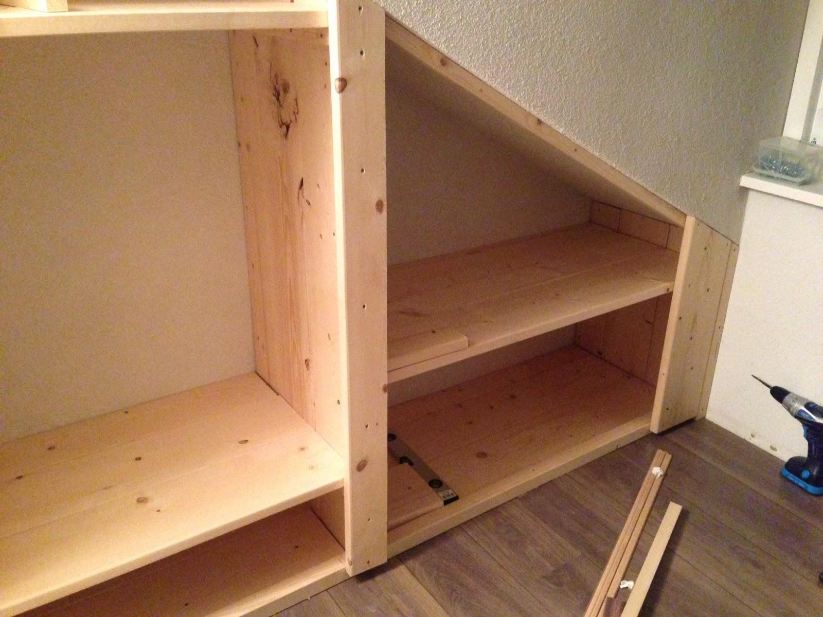 Maken: Verbouwing zolder vliering en slaapkamers maken. Scheidingswand ...